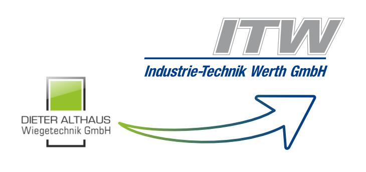 ITW Industrie Technik GmbH übenimmt Dieter Althaus Wiegetechnik GmbH