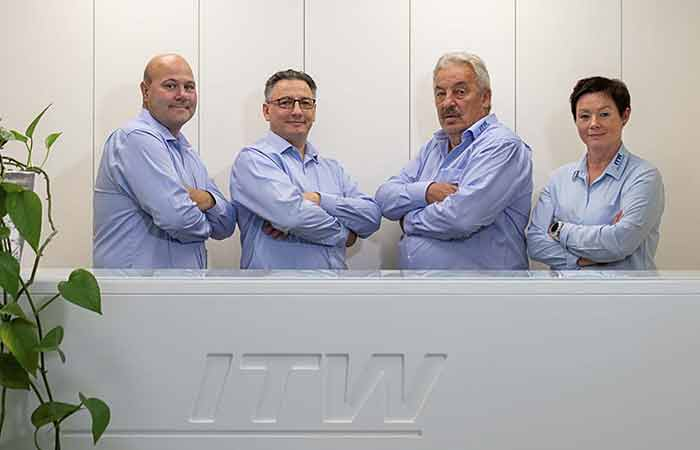 ITW Managing Directors 2021 - Sascha Eckert, Stephan Werth, Robert Werth, Doreen Eckert-Kliehm