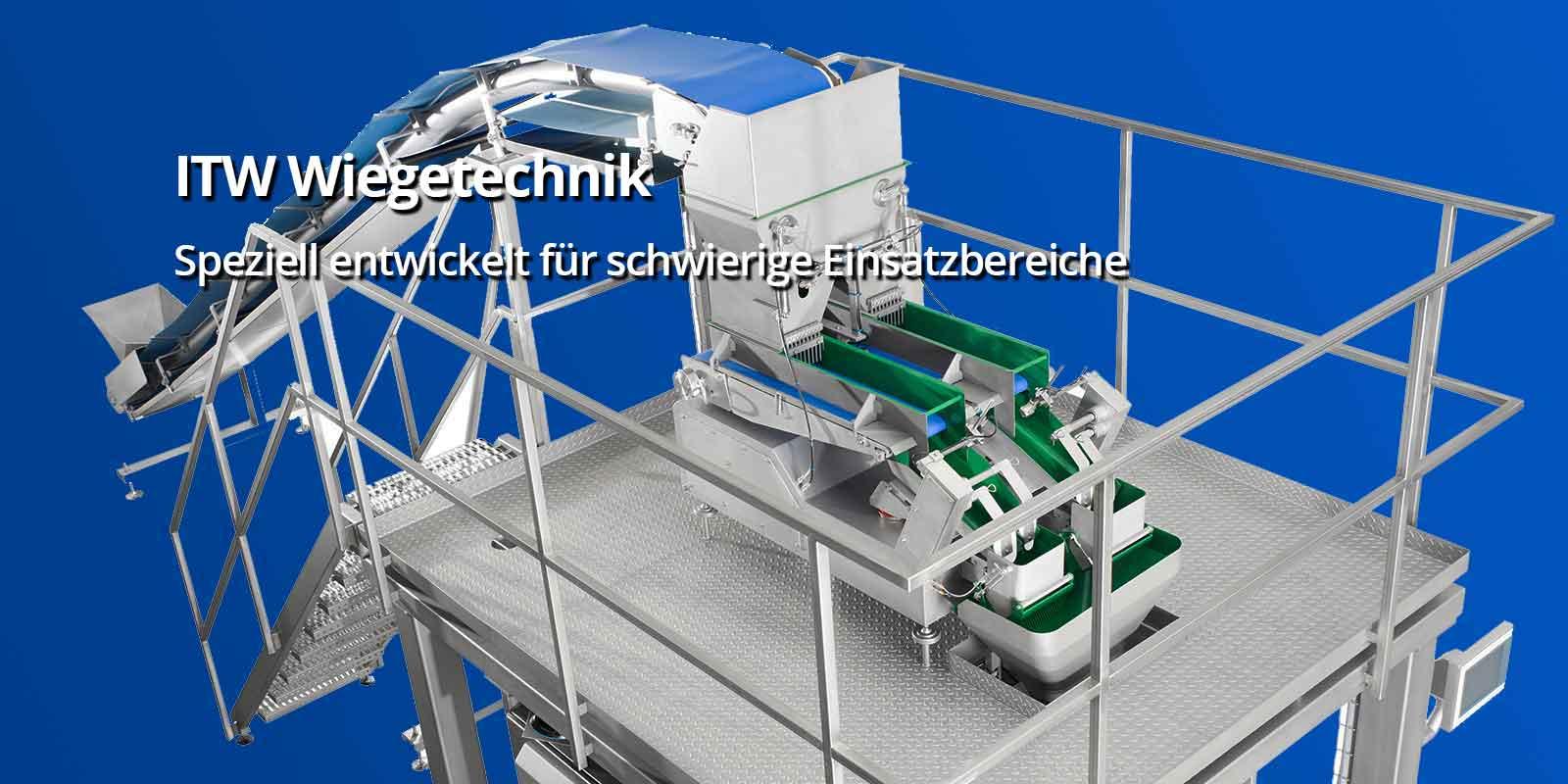 ITW Wiegetechnik Speziell entwickelt für schwierige Einsatzbereiche