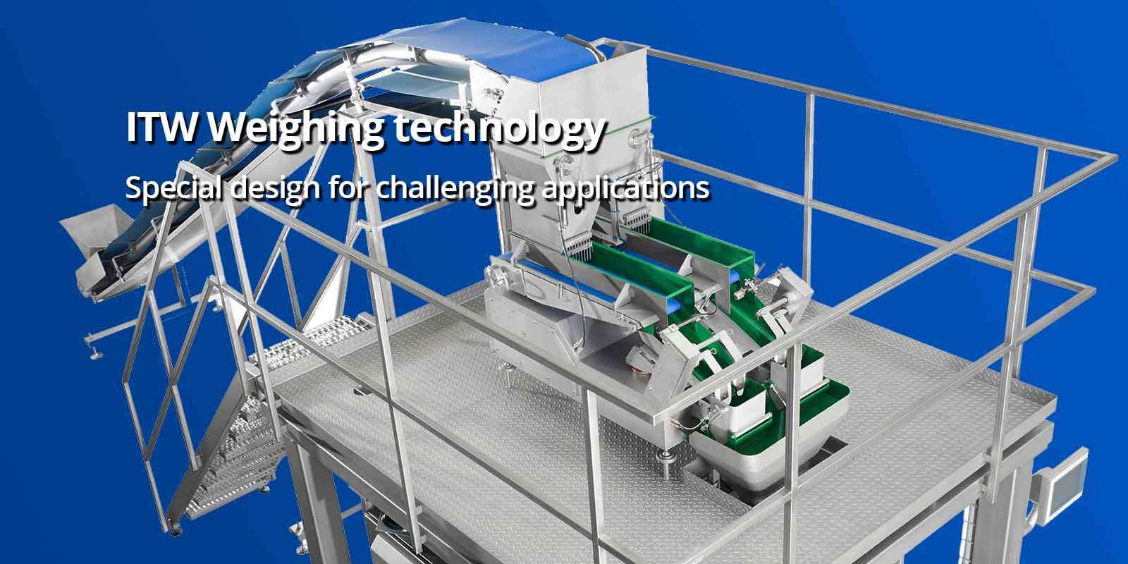 ITW Weighing technology Special design for challenging applications
